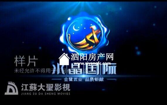 泗阳水晶国际小区视频