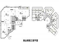 A-E3(商业裙楼三层平面)