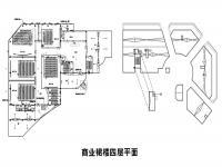 A-E4(商业裙楼四层平面)