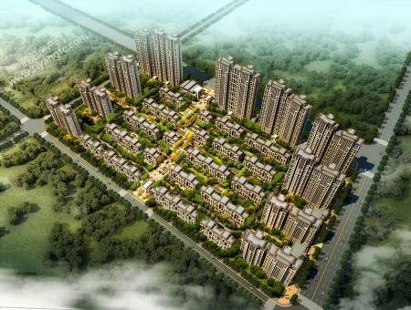 泗阳新城首府小区图